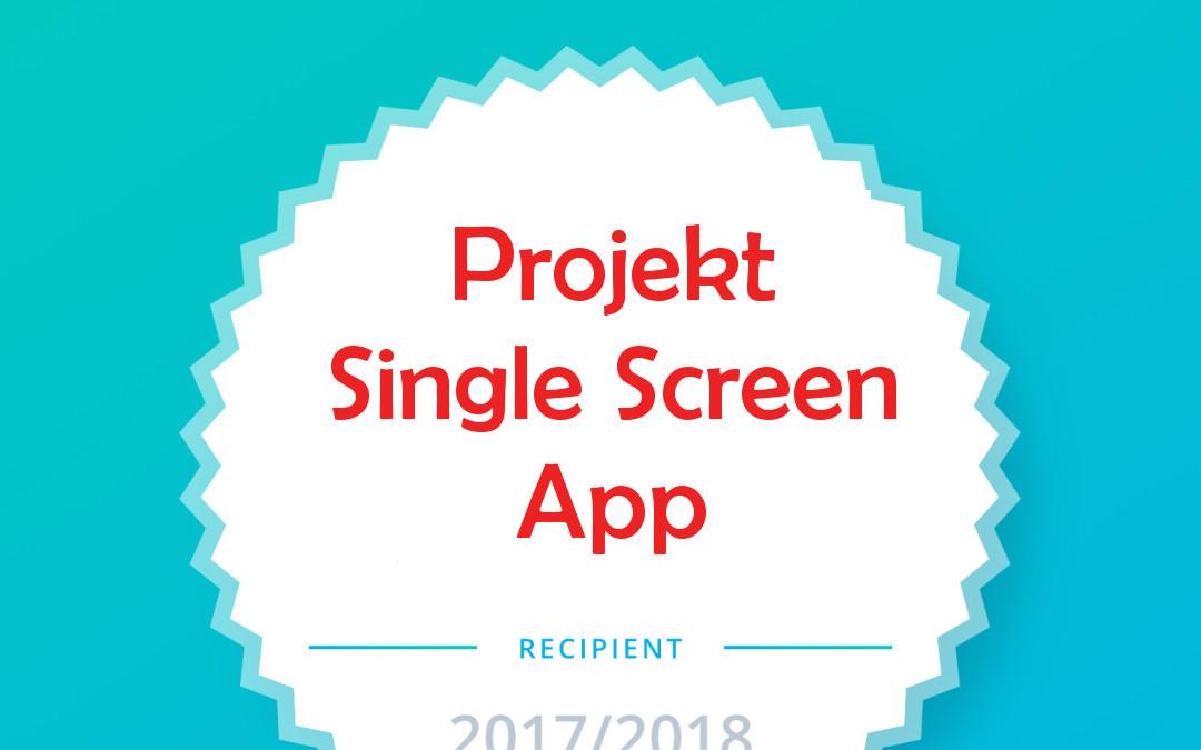 "Udacity Projekt: Eine ""Single Screen App"" erstellen"